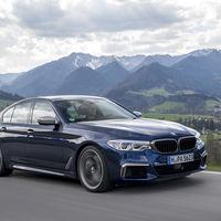 BMW M550i xDrive: la antesala del futuro BMW M5 tiene un V8 biturbo de 462 CV