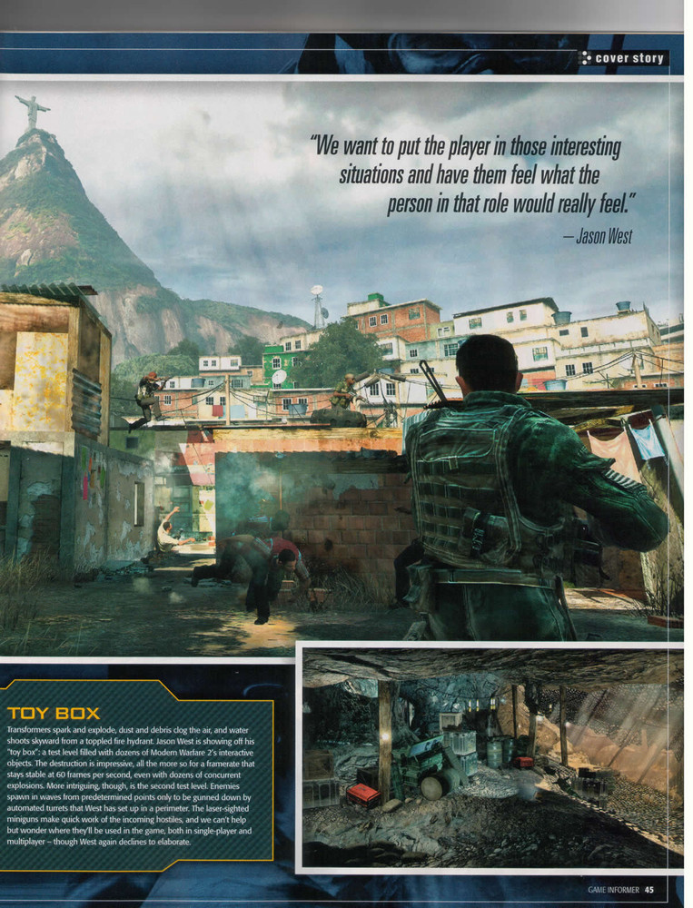 Foto de 'Modern Warfare 2' Scans Game Informer (10/10)