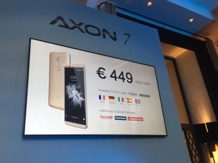ZTE Axon 7 precio
