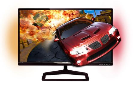 Imágenes en 3D para los más jugones, así es el nuevo monitor Gioco de Philips