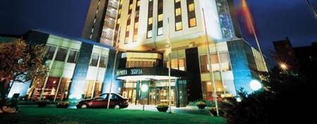 Entrada del hotel por Diagonal