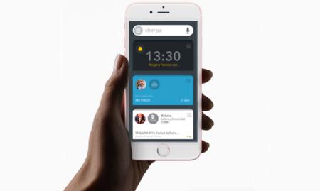 Sherpa Next, el asistente predictivo llega al iPhone