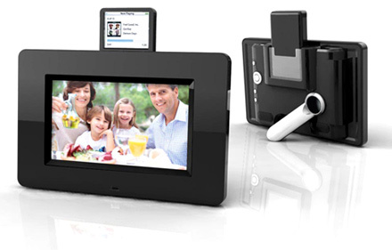 Mustek PF-i700, marco digital con dock para iPod
