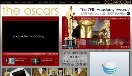 Oscar 2007: Ver la ceremonia por Internet