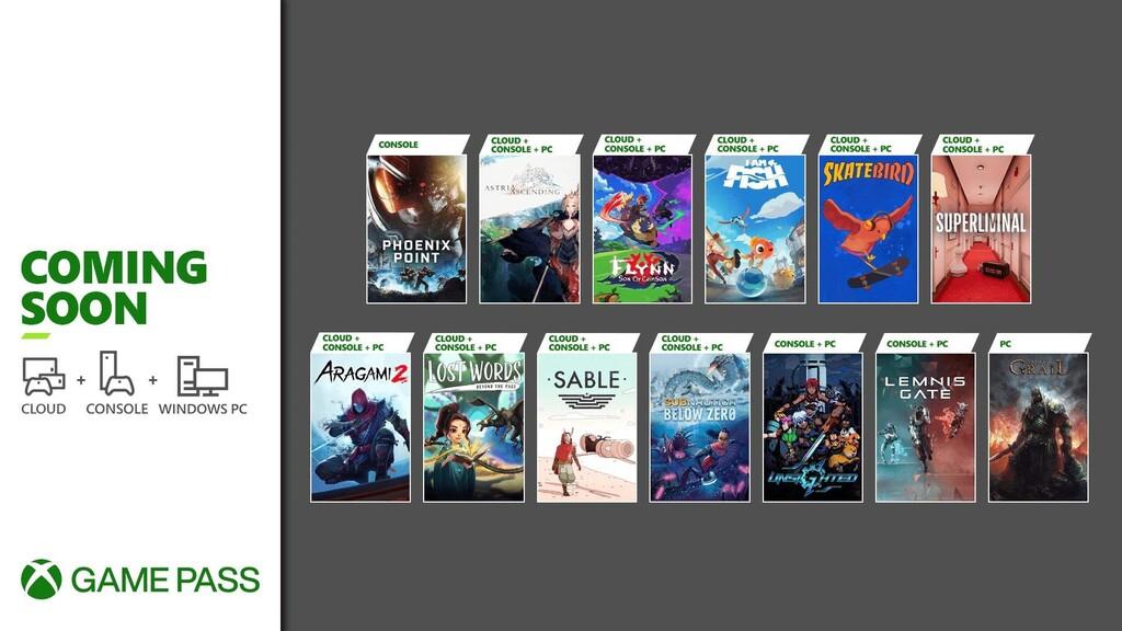 Sable, Superliminal y Aragami 2 entre los juegos que llegarán a Xbox Game Pass durante la segunda quincena de septiembre