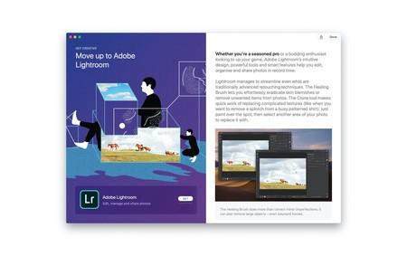Adobe Lightroom ya se puede descargar directamente desde el Mac App Store