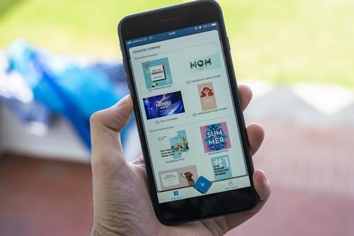 Probamos Crello, la aplicación para crear tus propios diseños para redes sociales con plantillas que aterriza hoy en iOS