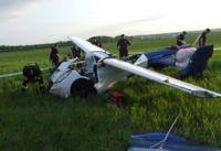 ¡Cae al suelo un auto volador!
