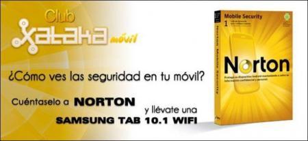 Club Xataka Móvil: ¿Cómo ves la seguridad en tu móvil?, cuéntaselo a Norton y gana una Samsung Galaxy Tab 10.1