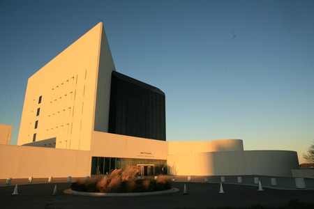 Museo y Biblioteca John F Kennedy en Boston.