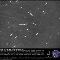 Primera imagen del que es el asteroide más cercano al Sol hasta el momento