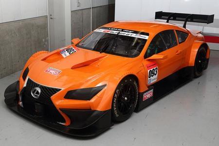 Lexus LF-CC del Super GT cazado en pista