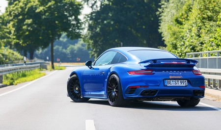 Porsche Blue Arrow 7