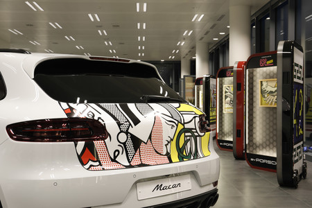 Caravana Pop Art. Roy Lichtenstein by Porsche