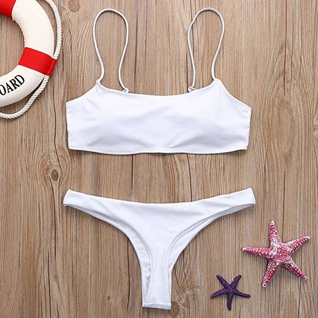 Bikini Blanco Amazon