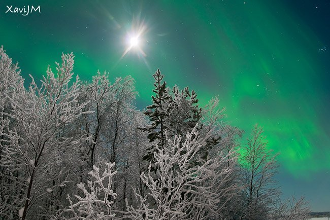 Aurora Boreal, por XaviJM