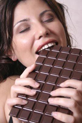 ¿Comer chocolate provoca acné?