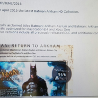 Un rumor apunta a que Batman Arkham HD podría estar desde hoy disponible para reserva en Xbox One
