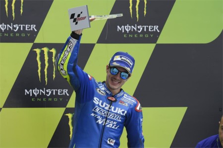 Suzuki Podio Maverick Vinales Lemans Motogp 2016