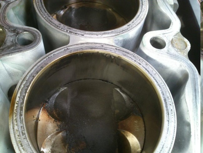 Motor estropeado