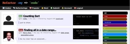 RefactorMyCode, mejorando códigos de programación