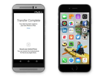 Apple estaría desarrollando una app para permitir la migración a Android desde iOS (EDITADO: Apple desmiente el rumor)