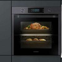 Samsung Dual Cook Flex: así es el horno inteligente de Samsung que permite preparar dos platos de forma simultánea