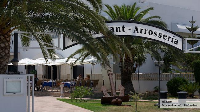 Restaurante vora riu pinedo - terraza