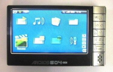 Archos 604 con WiFi, más información desvelada