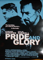 Póster de 'Pride and Glory' con Edward Norton y Colin Farrell