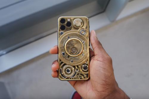 Así se ve el iPhone más caro del mundo: cuesta más de 100.000 dólares, tiene oro de 24 quilates y 137 diamantes