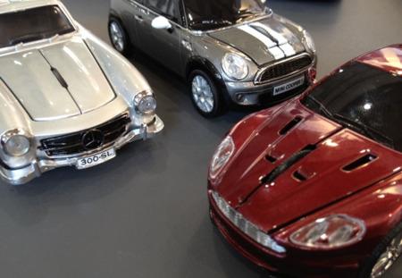 Click Car Mouse. Ratones de lujo con forma de coche