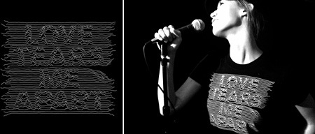 Camiseta Joy Division, muy fan