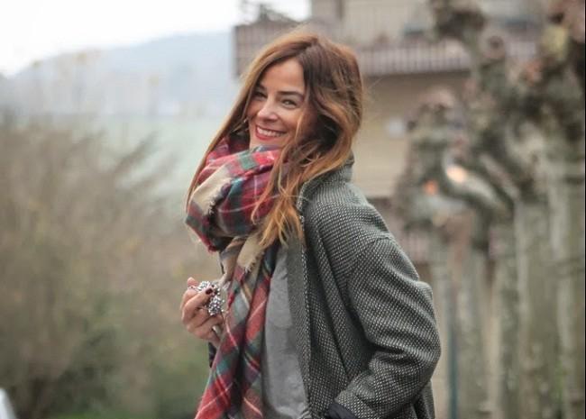 La bufanda de cuadros de Zara que parece que me persigue