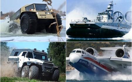 Rusia es más que Putin cazando desnudo. Aquí van siete anfibios rusos ideales para el archienemigo de 007
