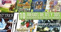 Diez juegos de DS/3DS que no puedes dejar pasar estas navidades