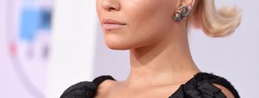 El delineado más perfecto que verás lo llevó Rita Ora a los AMAs 2018
