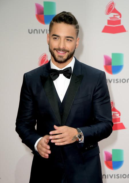 Maluma Nos Ensena Como Vestir Un Look De Tres Piezas En La Red Carpet Los Latin Grammy 2