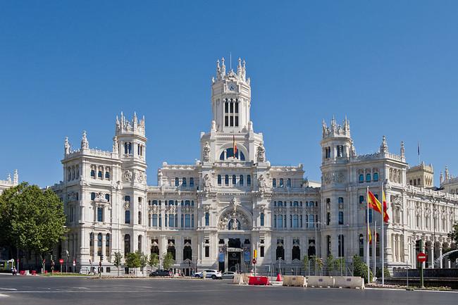 Palacio de las Comunicaciones, Alcaldía de Madrid