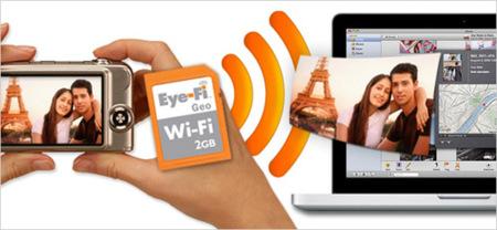 Eye-Fi Geo, tarjeta de memoria con geolocalización para iPhoto