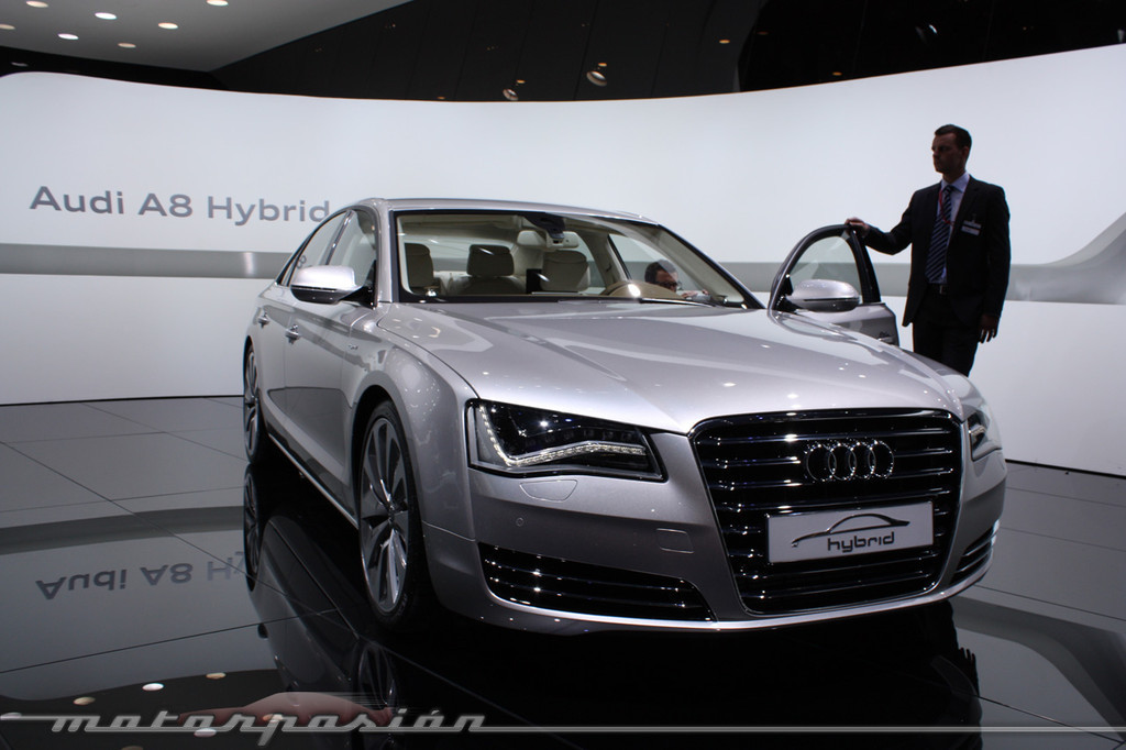 Foto de Audi A1 y A8 híbridos en el Salón de Ginebra (1/18)