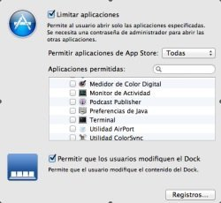 Control Parental, OS X Lion