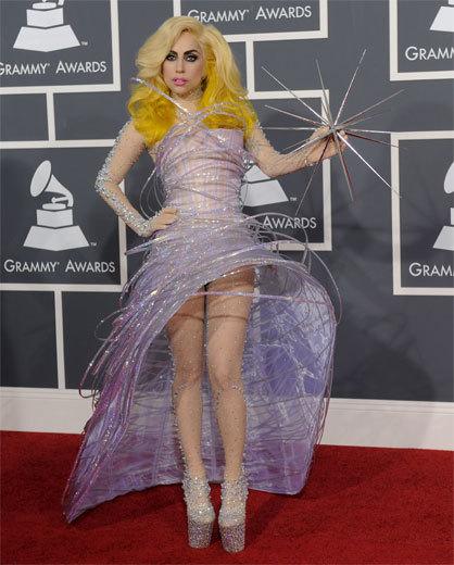Foto de Lady Gaga y Taylor Swift en los Grammy (1/10)