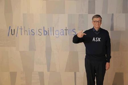 Bill Gates Ask Me Anything