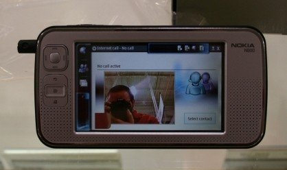 Nokia N800 con Skype y Flash 9