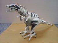 Roboraptor, un dinosaurio mecanizado