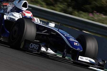 Nakajima hace volar su Williams el último día de pretemporada