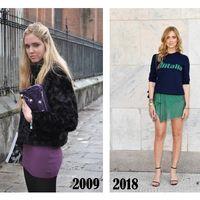 El armario del pasado de las bloggers de moda más influyentes: ¿cómo eran sus primeros looks?
