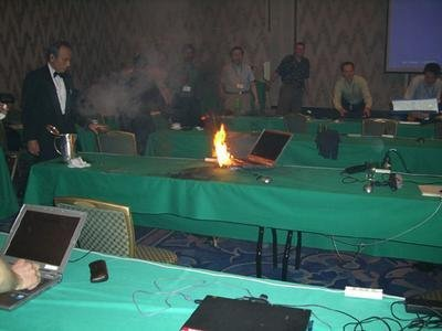 Dell investigará el portátil ardiendo