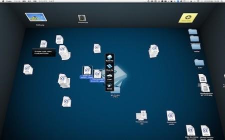 BumpTop Mac Desktop